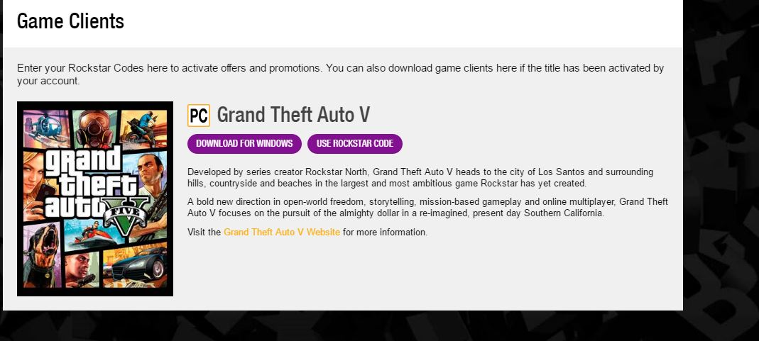 How to download and activate grand theft auto v pc and play online.