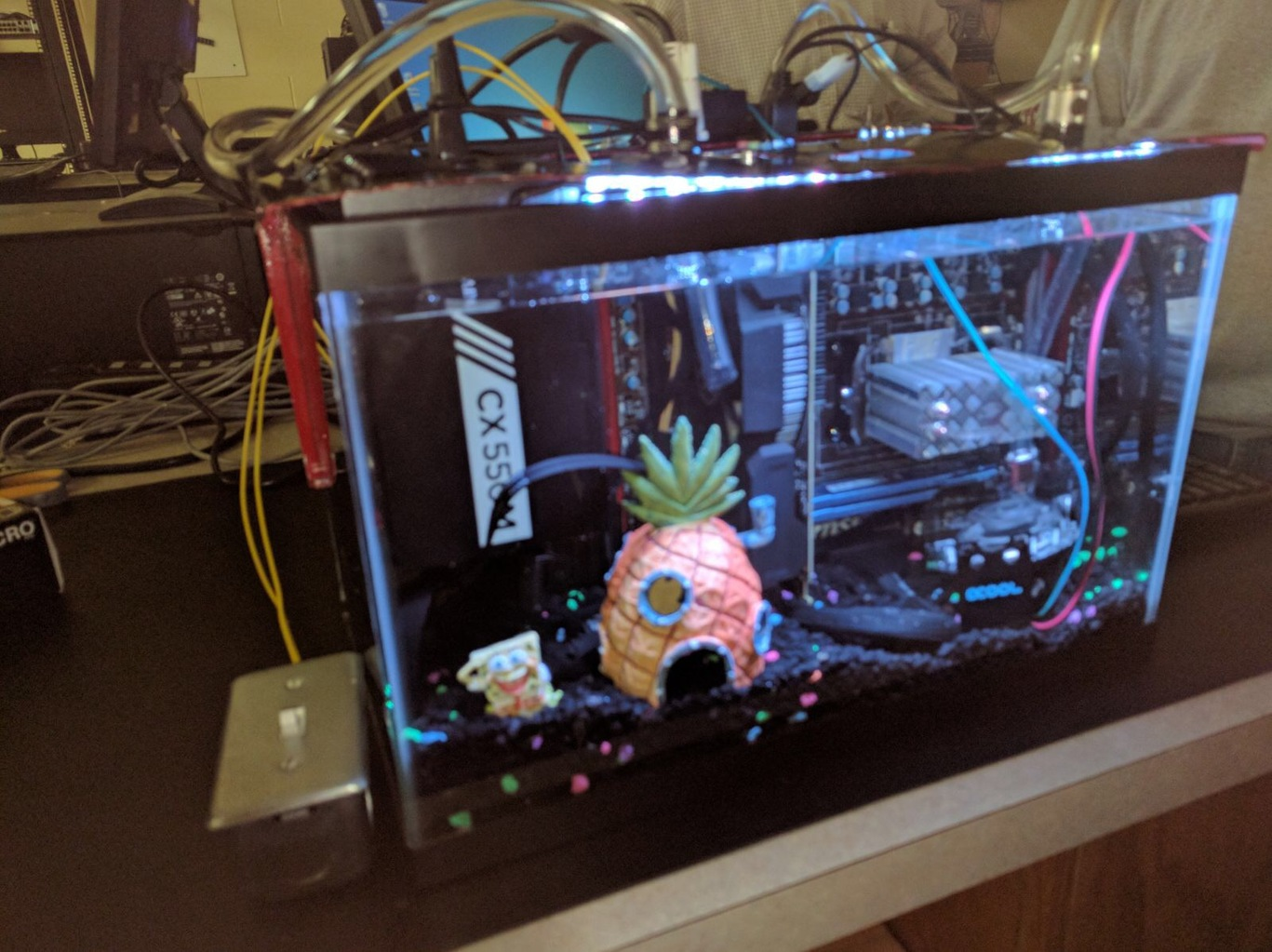 Mineral Oil Pc Liquid And Exotic Cooling Linus Tech Tips