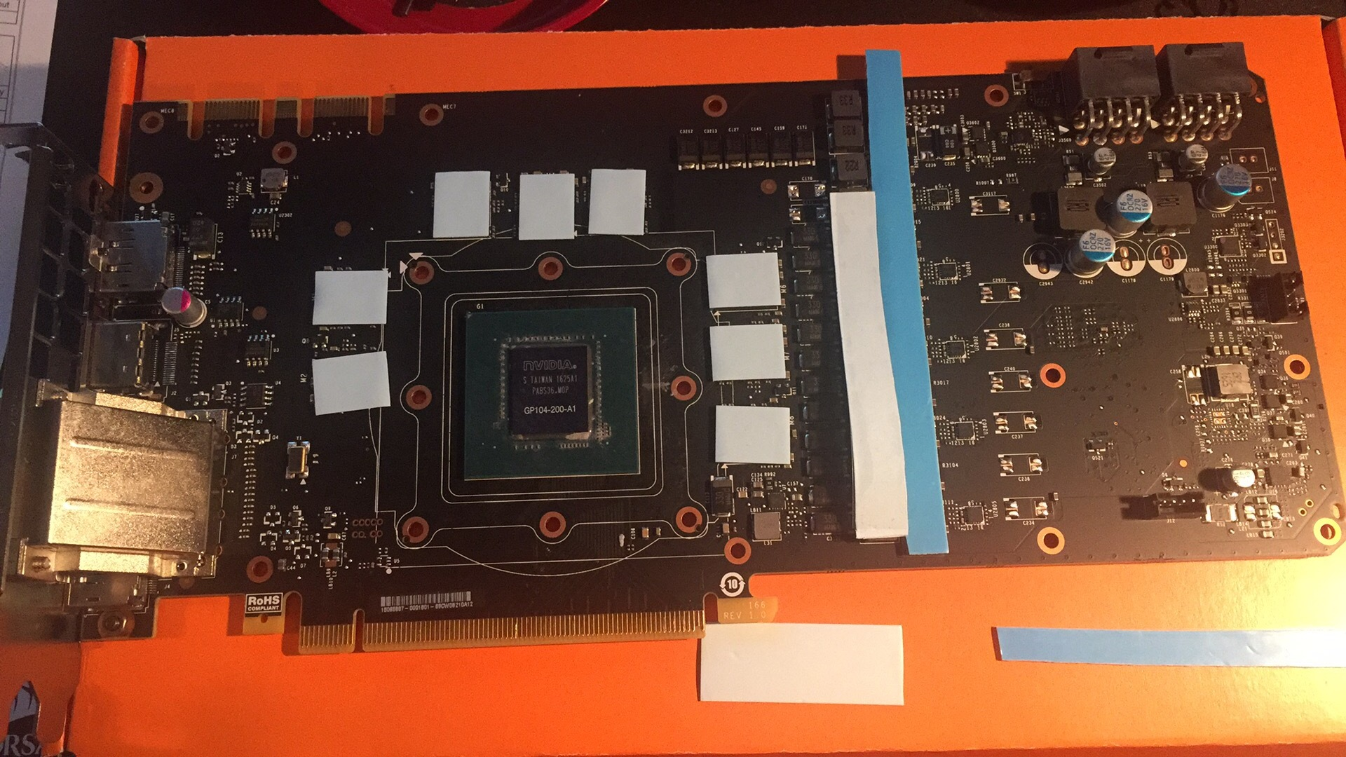Thermal pads on gpu block - Liquid and Exotic Cooling