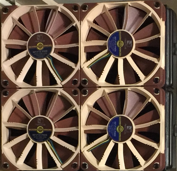 EK Vardar vs Noctua iPPC for radiator - Liquid and Exotic Cooling