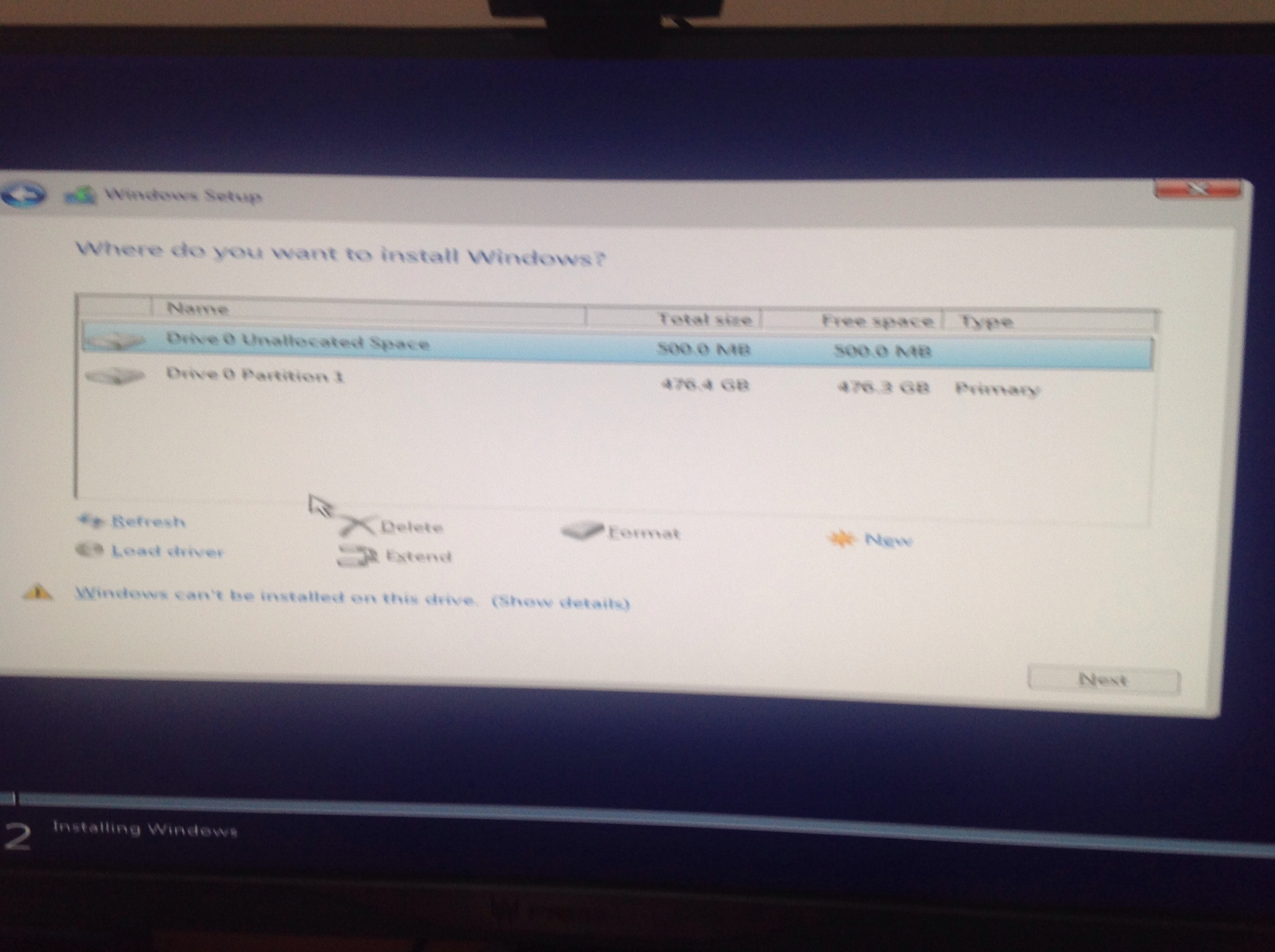 Clean Installation of Windows - Mysterious Partition? - Windows - Linus  Tech Tips