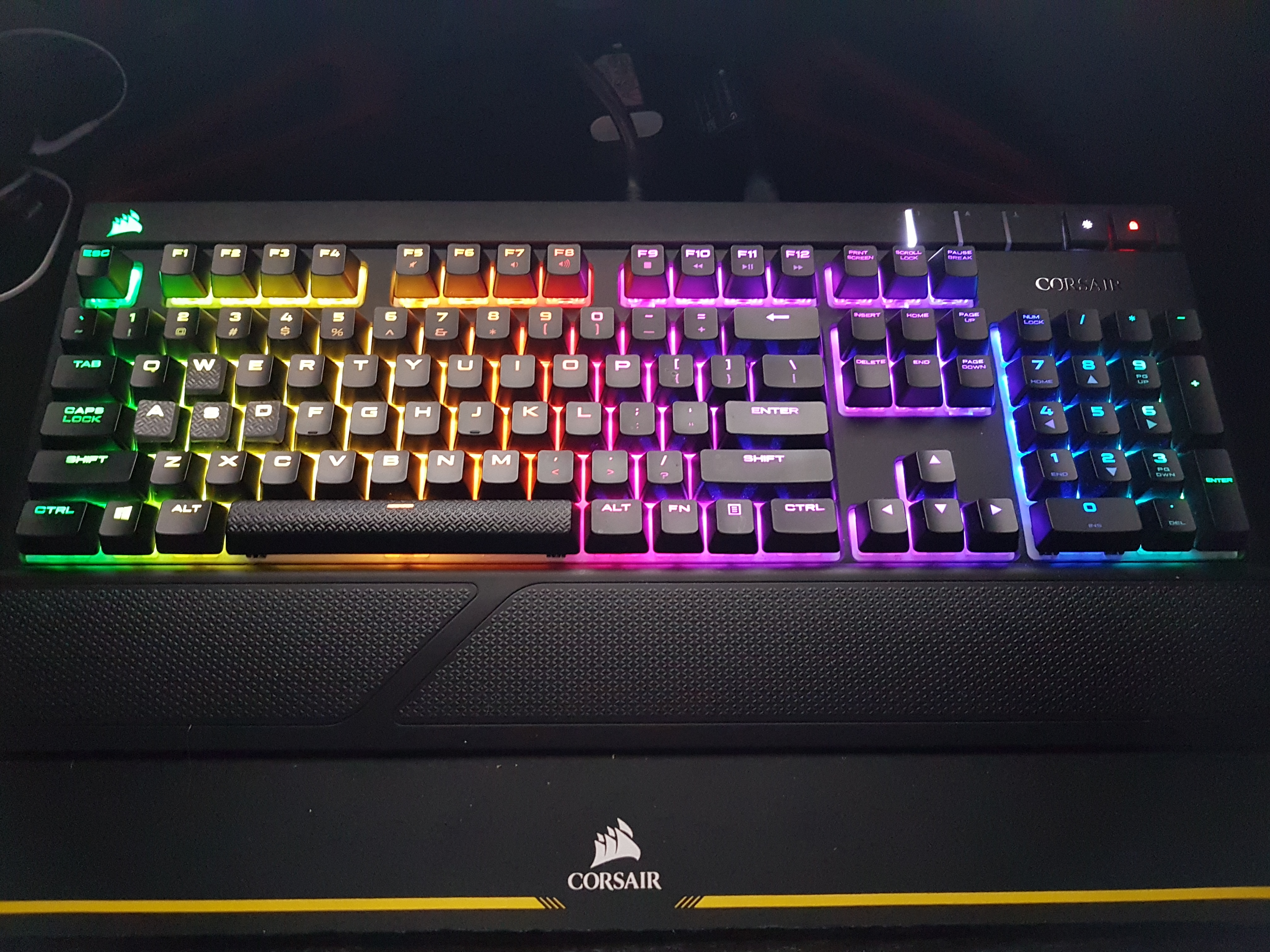 Corsair Gaming Strafe Rgb Cherry Mx Red Silent Worth Peripherals Brown Led 20170320 223614