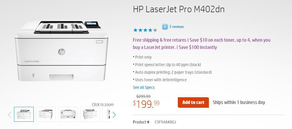 Black & White Laser Printer Recommendation - Peripherals - Linus