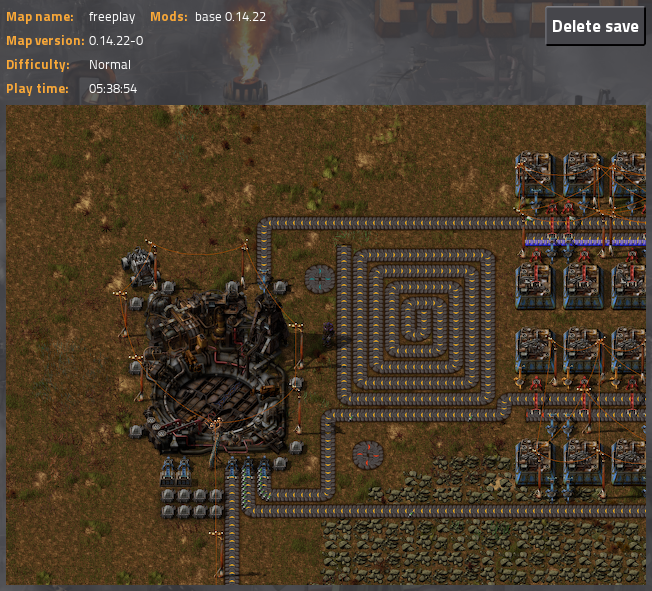 When you complete factorio in 5 and a half hours  - PC