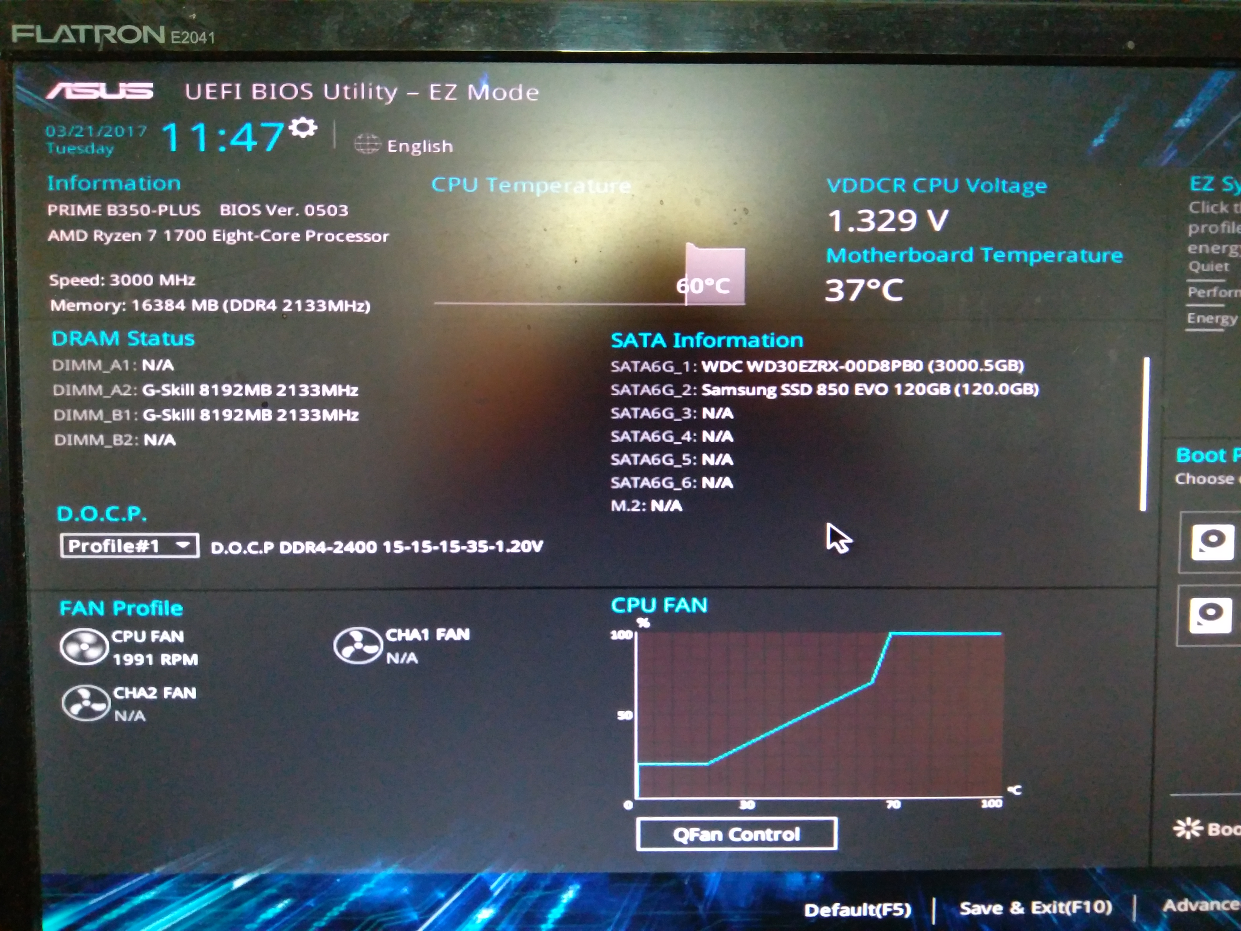 ryzen r7 1700 ram and cpu voltage issues - CPUs, Motherboards, and