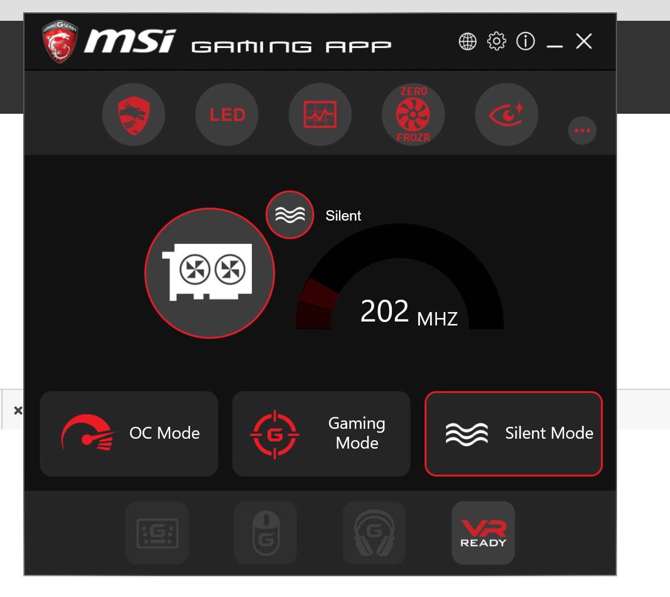 MSI Gaming App not recognizing CPU - Programs, Apps and Websites