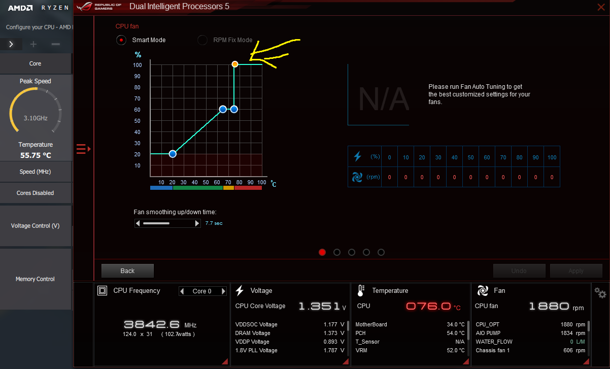 1800X Temp Offset Causing Noise - Troubleshooting - Linus Tech Tips