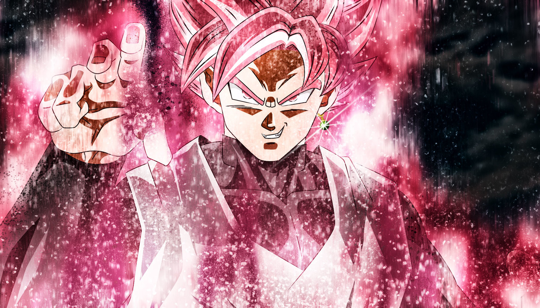 Looking for ideas on a super saiyan rose build theme new - Super saiyan rose wallpaper ...