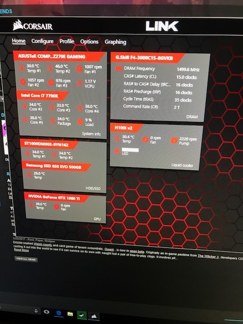Corsair h100i v2 Help - Liquid and Exotic Cooling - Linus