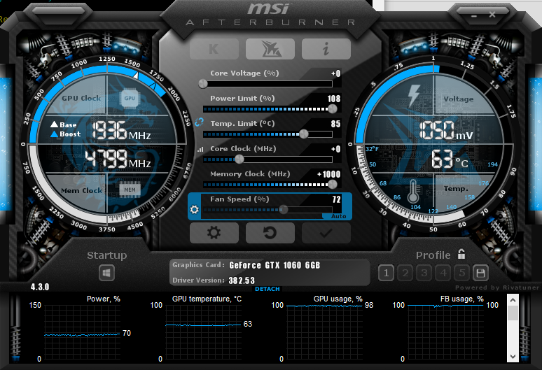 Boosting Clock Speeds with MSI Afterburner - Graphics Cards