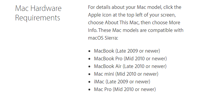 Apple plans to kill off 2010 and 2011 Mac Support with macOS 10 14