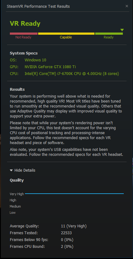 Post your SteamVR Performance Test results here - Page 218