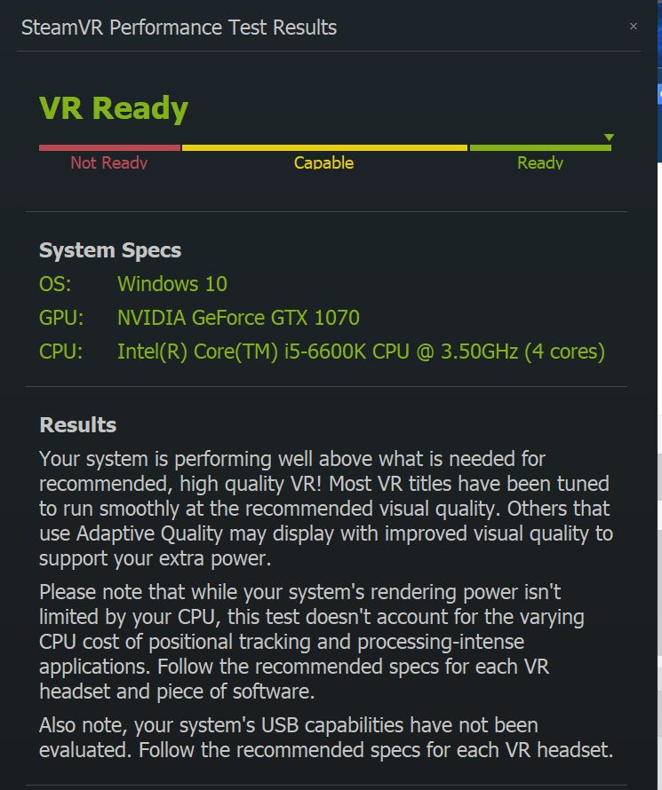 Post your SteamVR Performance Test results here - Page 218 - PC
