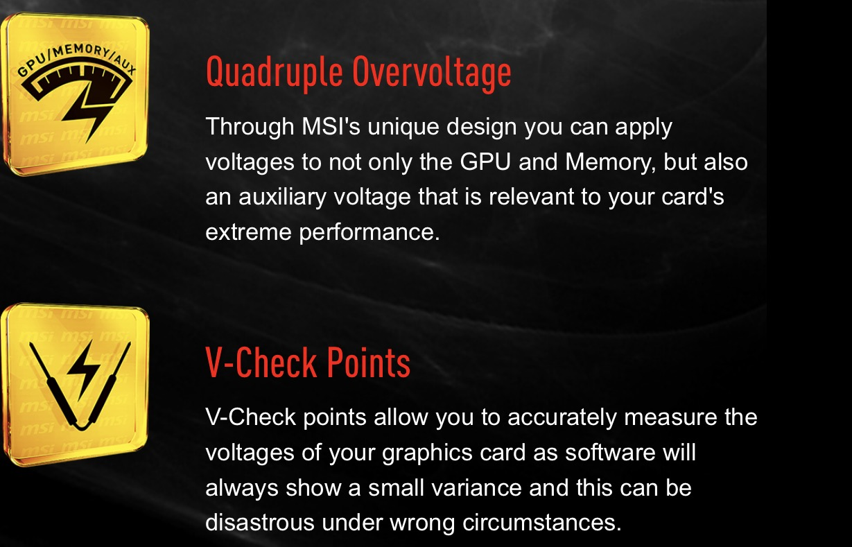 Can't access voltage control MSI 1080 Ti Lightning X - Graphics