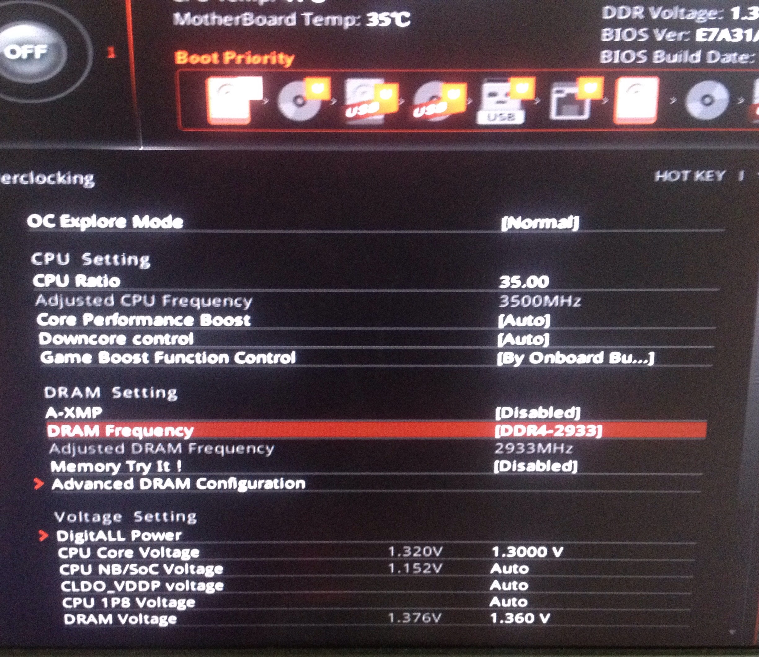 Ryzen 7 overclock is trolling - CPUs, Motherboards, and Memory