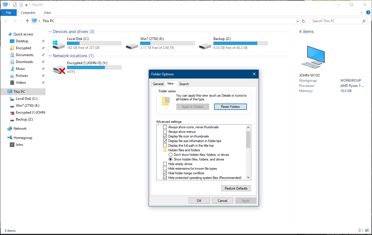 Desktop.ini files: what it is and whether it is possible to get rid of them 30
