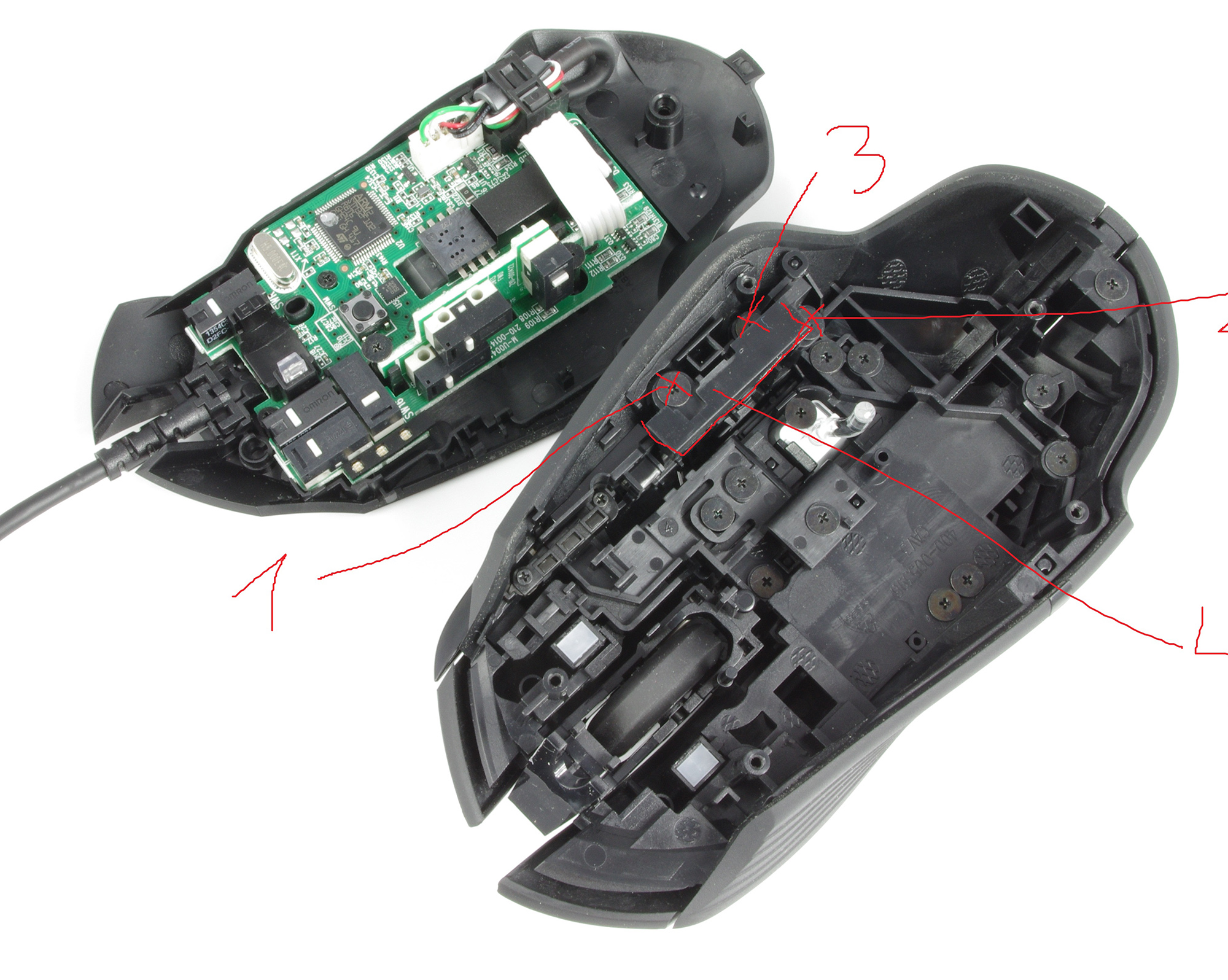 Information and resources for fixing Logitech G402 buttons