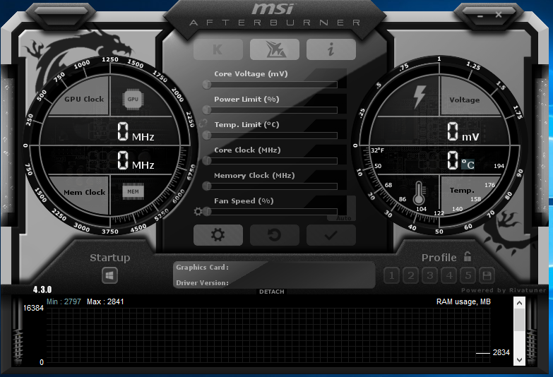 cant install msi afterburner windows 10