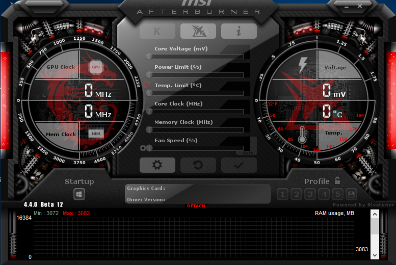 MSI Afterburner not detecting graphics card - Graphics Cards - Linus