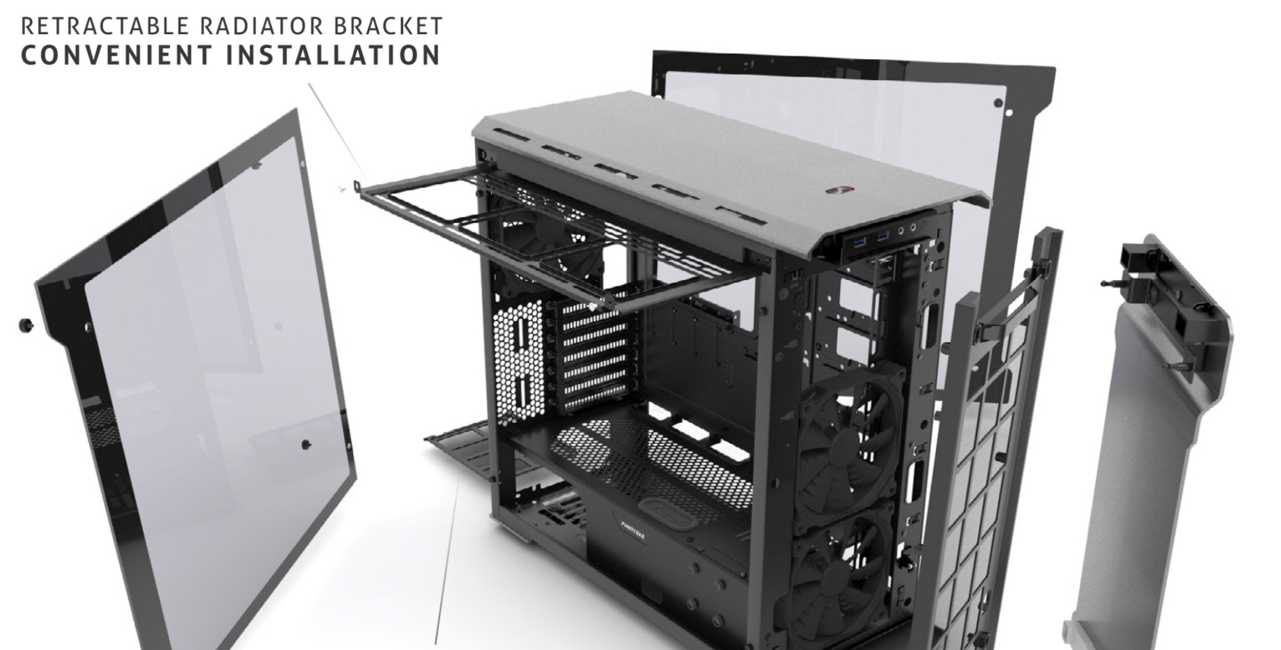 How To Mount Fans To Top New Builds And Planning