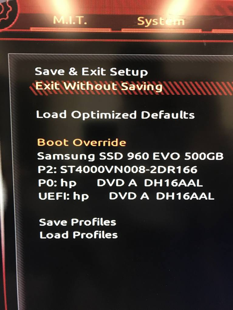 How to get into bios on a hp envy 23-c059