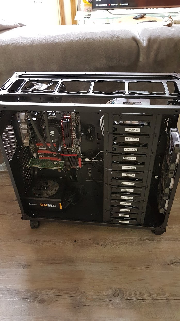 Looking for NAS Case 13+ Hard Drives - Cases and Power Supplies