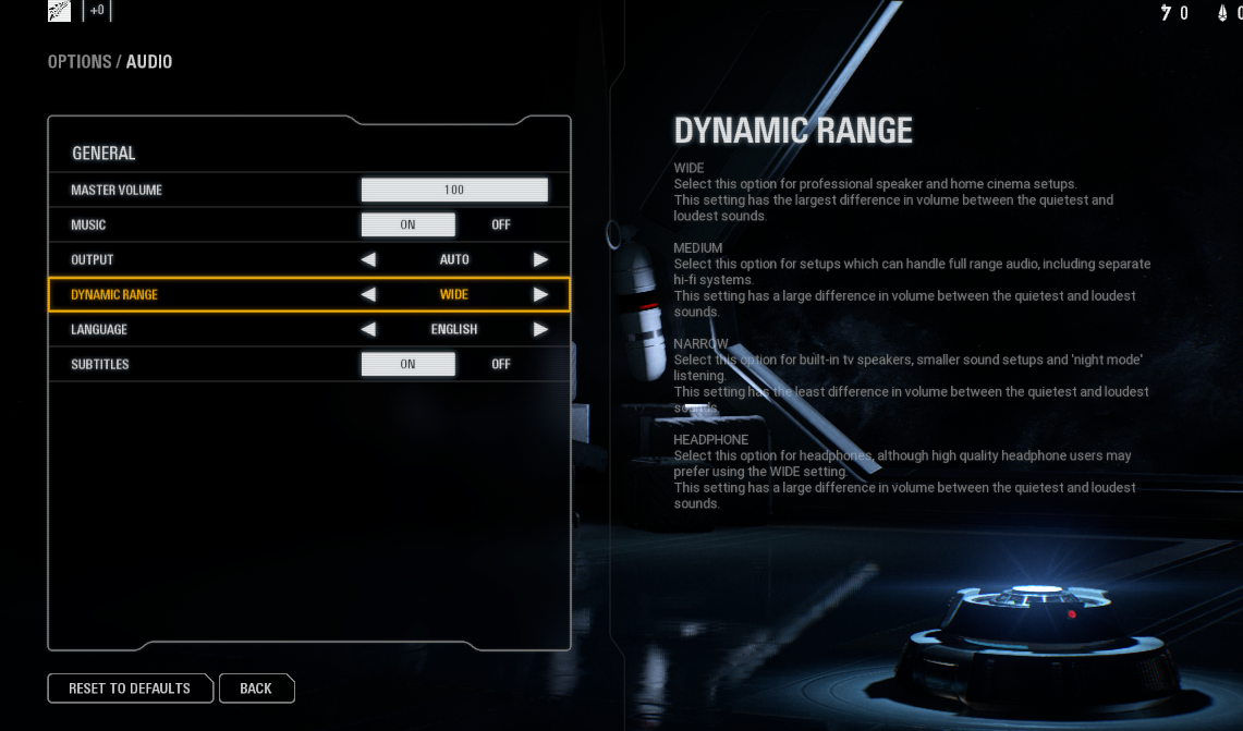 SW Battlefront 2 sound settings for in game and windows?/speaker and