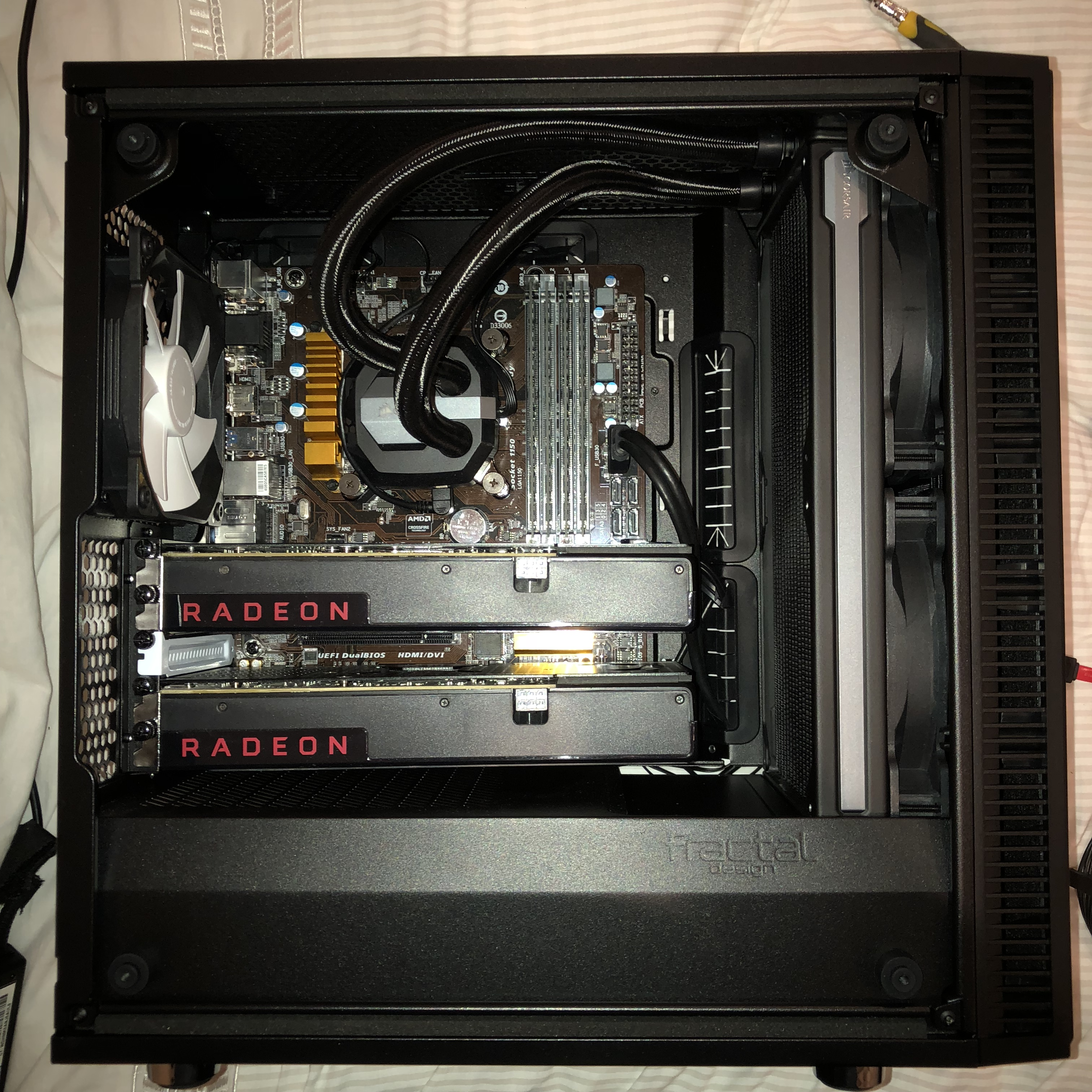 complete old into new fd define mini c build logs linus tech tips. Black Bedroom Furniture Sets. Home Design Ideas