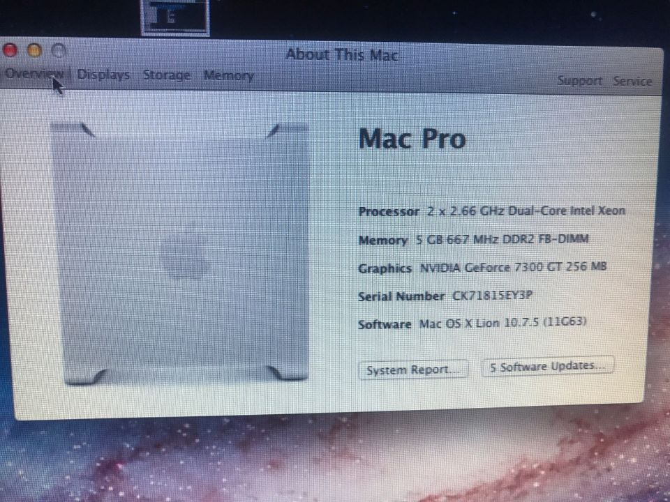 Know your Mac Pro's Model