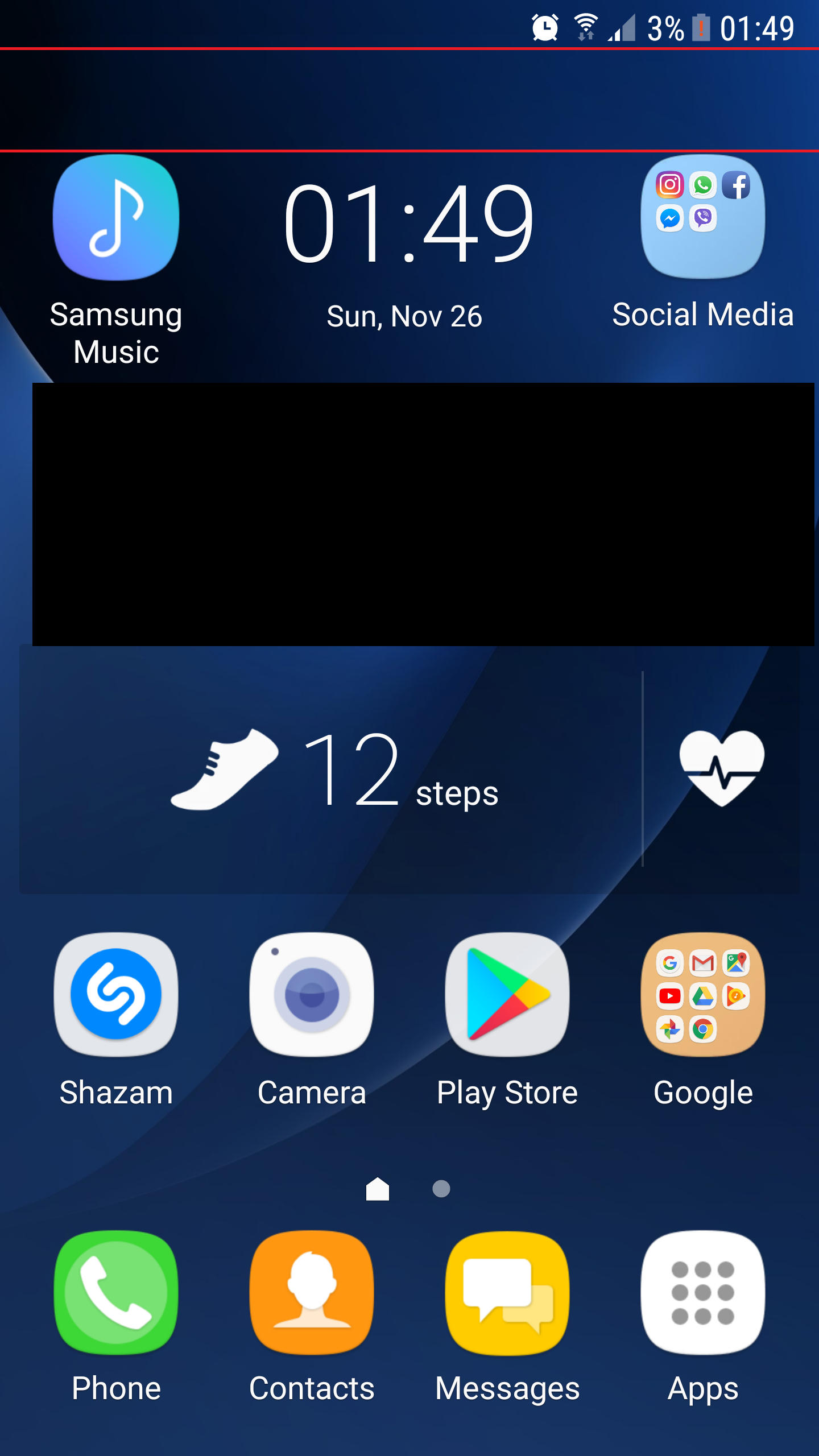 Too Much Free Space On Home Screen | Galaxy S7