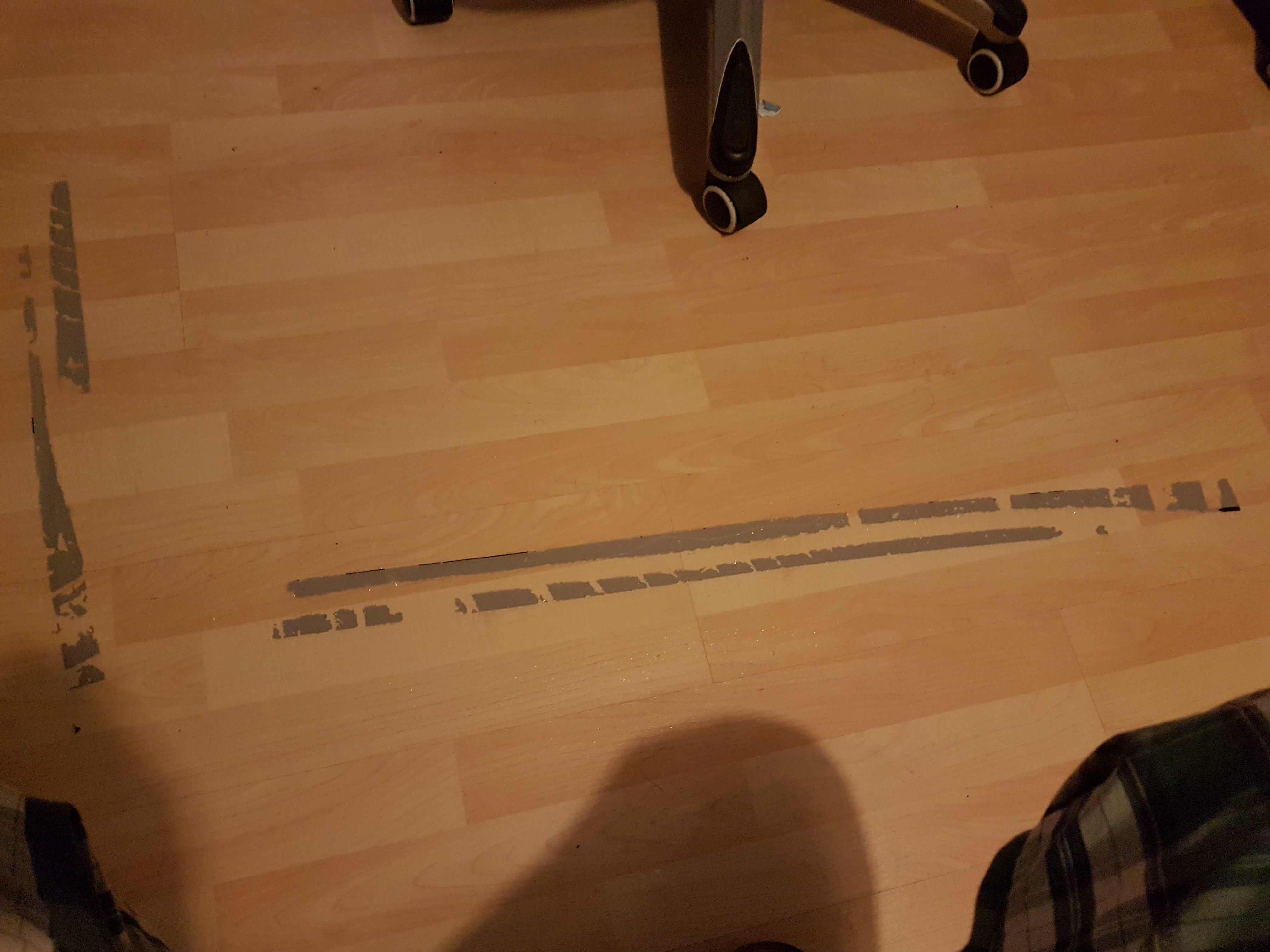 Sticky Tape Residue Off My Wooden Floor