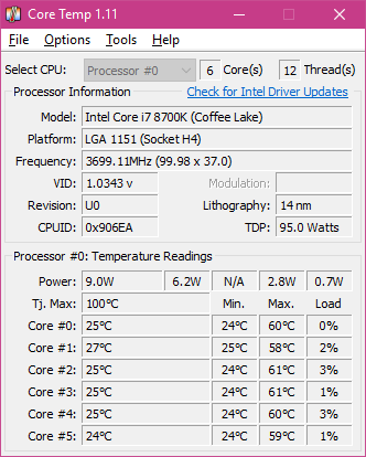 Constant 1 25v on 8700K = Degradation? - CPUs, Motherboards, and