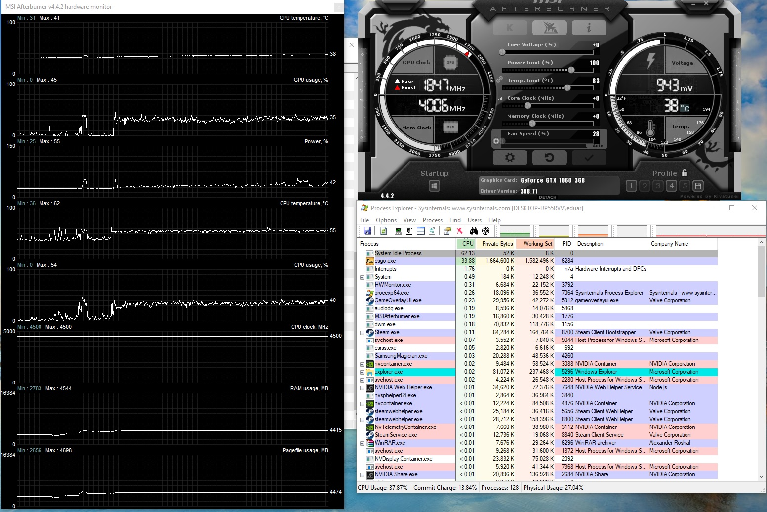GTX 1060 - I7 7700k Micro Stutters and Jagged Lines