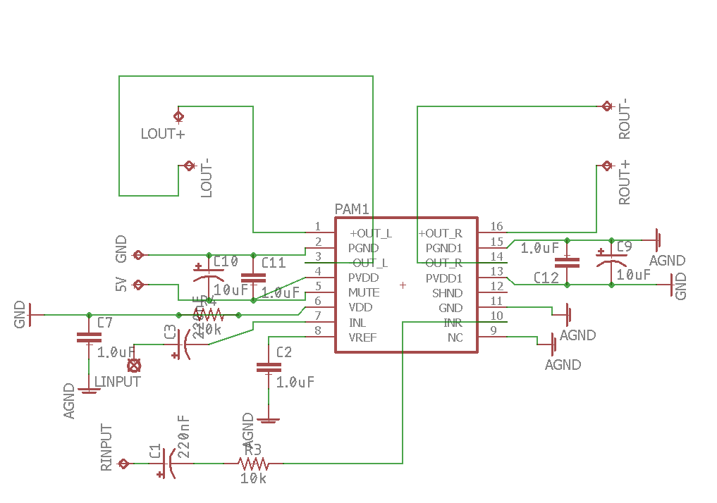 Pam8403 Schematic Help - Hobby Electronics