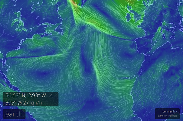 Live Earth Wind Map.Live Global Map Of Wind Directions Speed Off Topic Linus Tech Tips