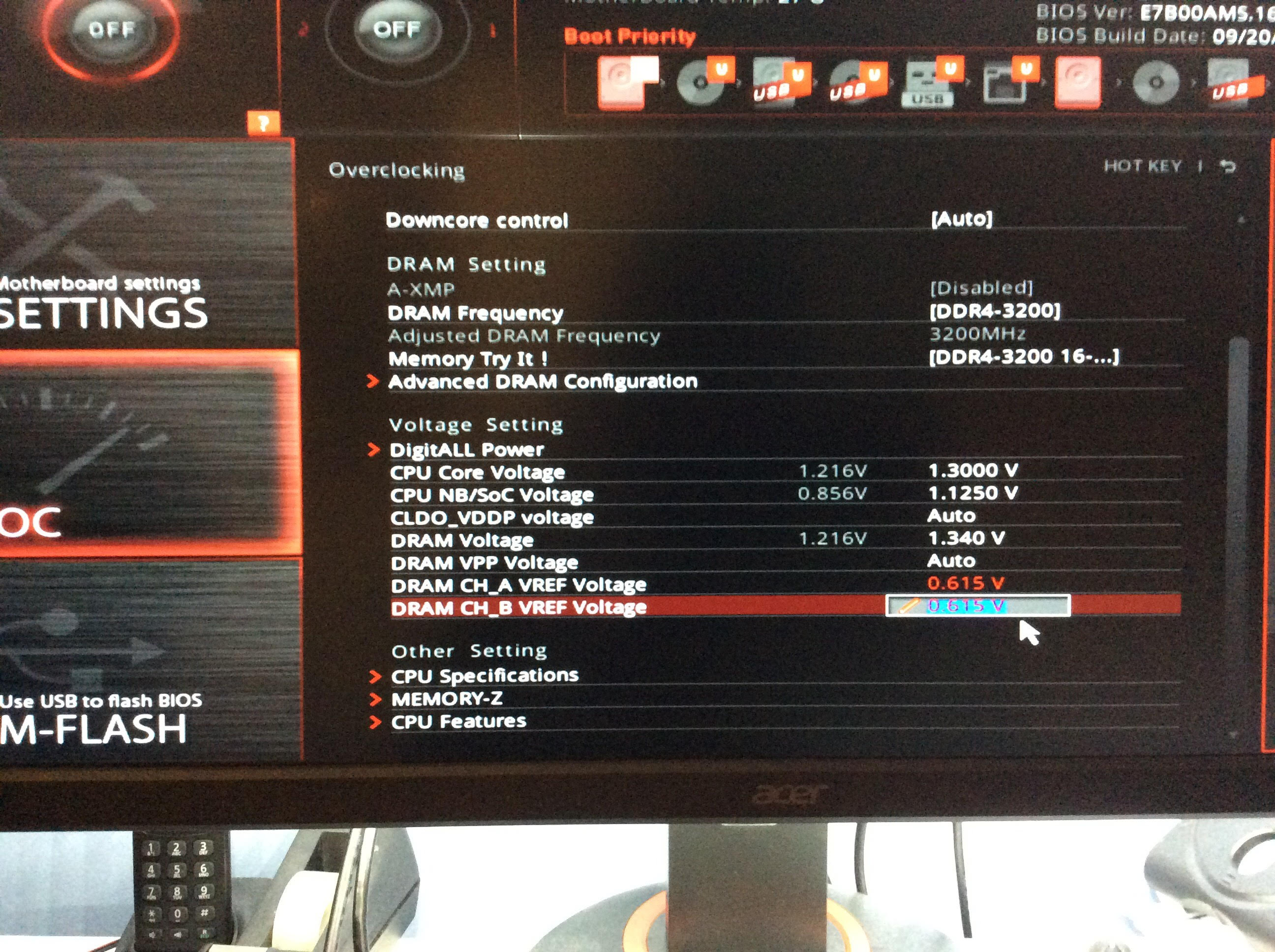 difficulty overclocking ryzen 5 1600 - CPUs, Motherboards, and