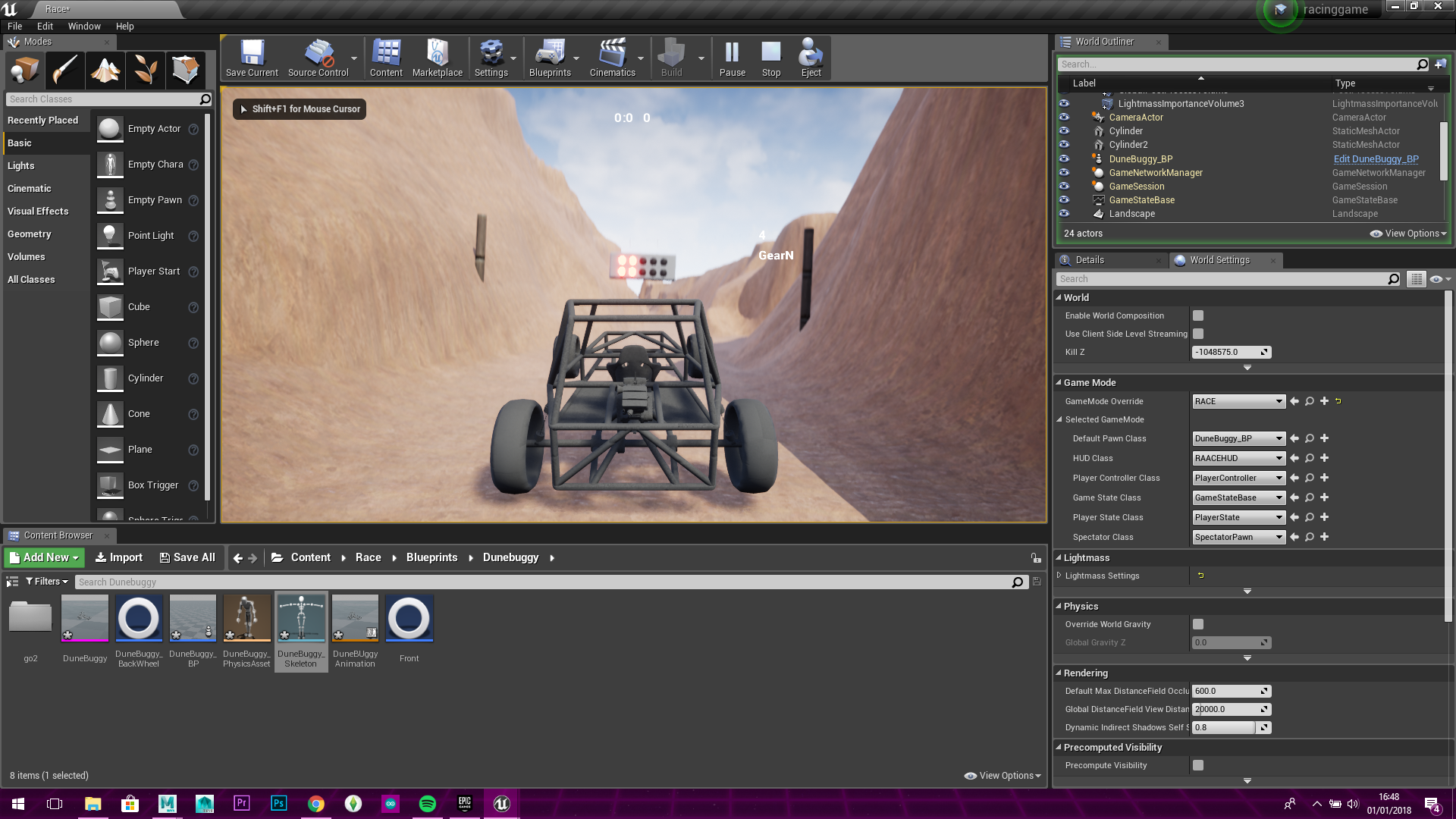 Unreal engine vehicle floating and wont move programming linus 2018 01 01 1g malvernweather Gallery