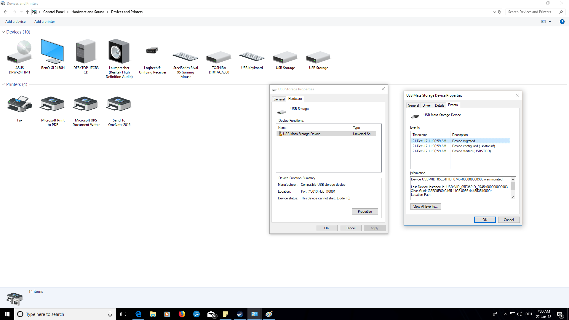 usb mass storage device driver windows 8.1 asus