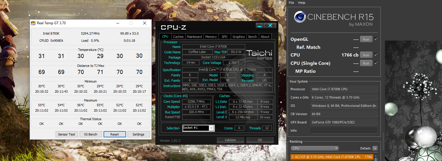 Just delidded 8700k and temps are amazing  - CPUs