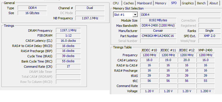 Can't get RAM beyond 1200MHz in BIOS - CPUs, Motherboards, and