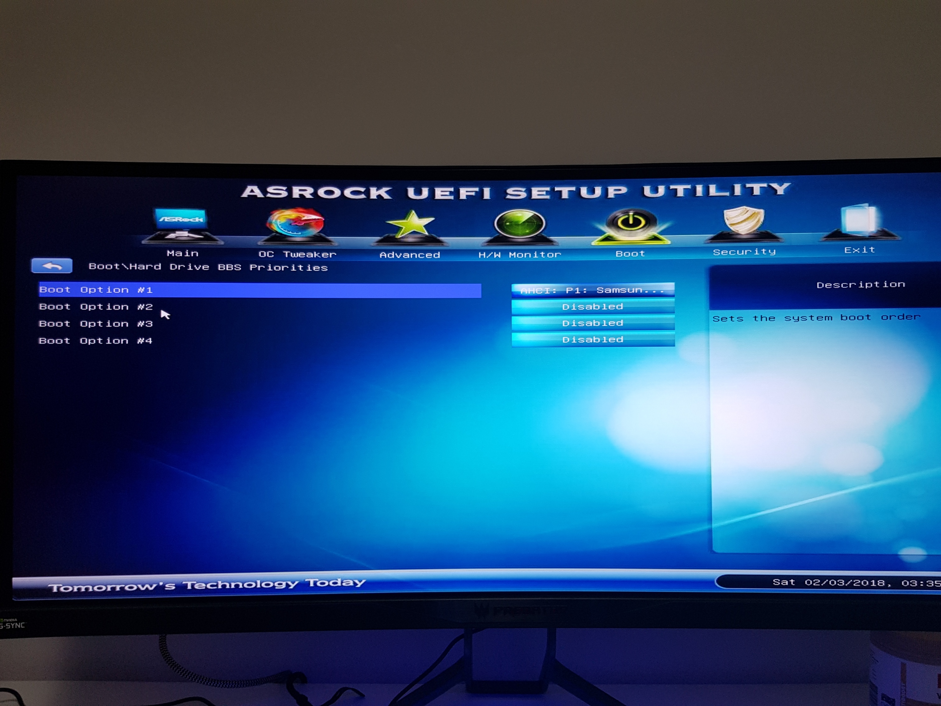 ASROCK BIOS Boot Screen loading 3x before getting into