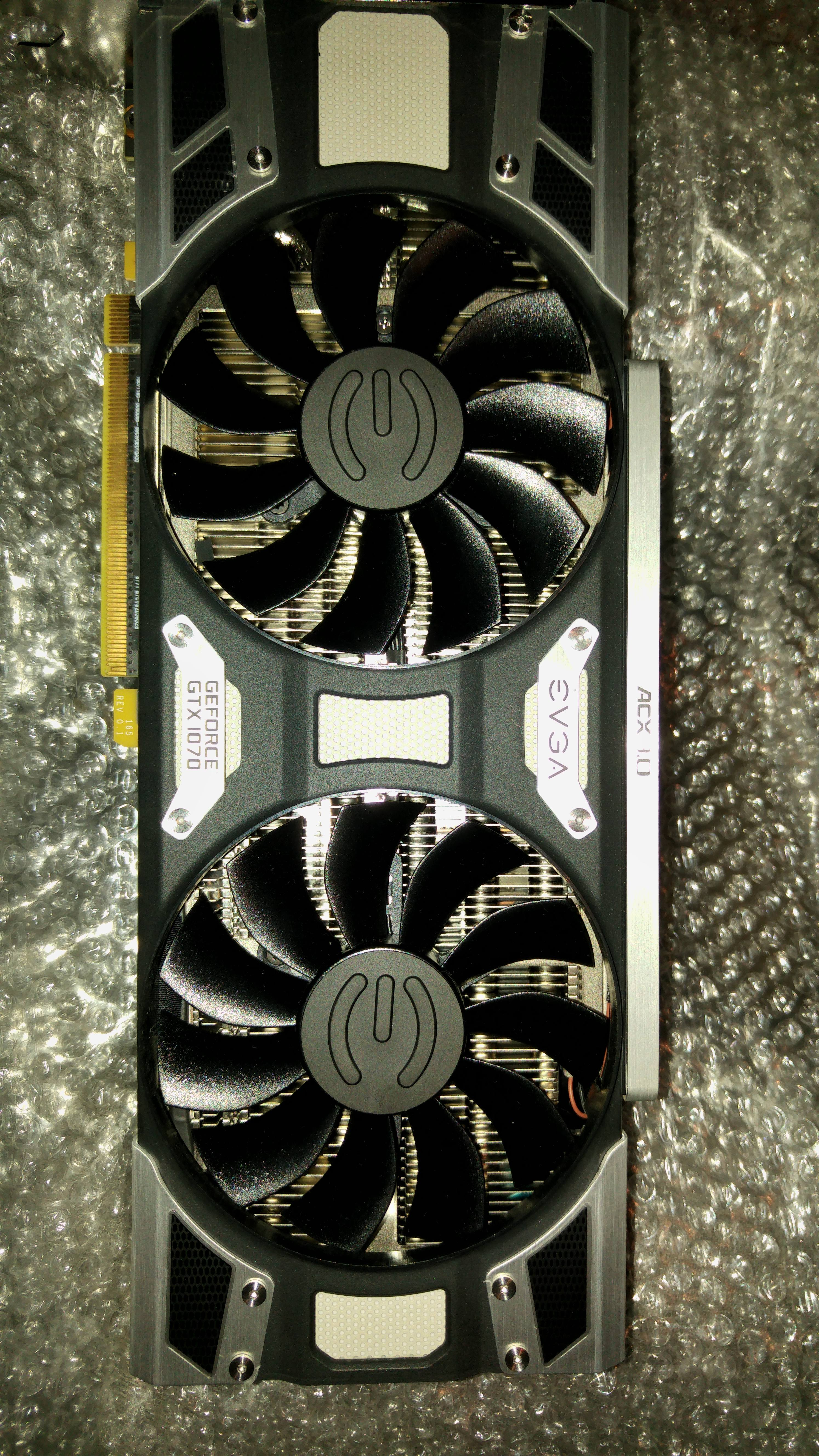 What can I expect to get for a GTX 1070 (evga brand, not an SC or
