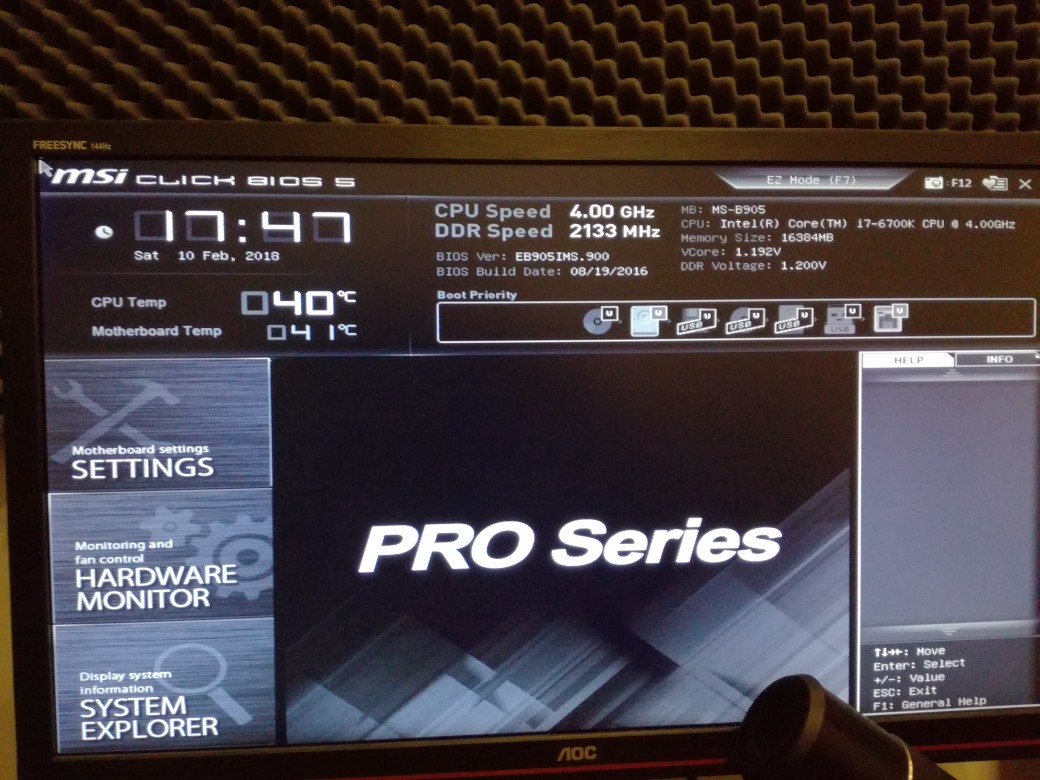 MSI BIOS doesn't show m-flash option - CPUs, Motherboards, and