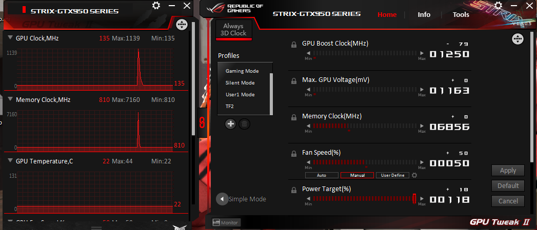 Somthin wrong with gpu tweak 2 - Graphics Cards - Linus Tech