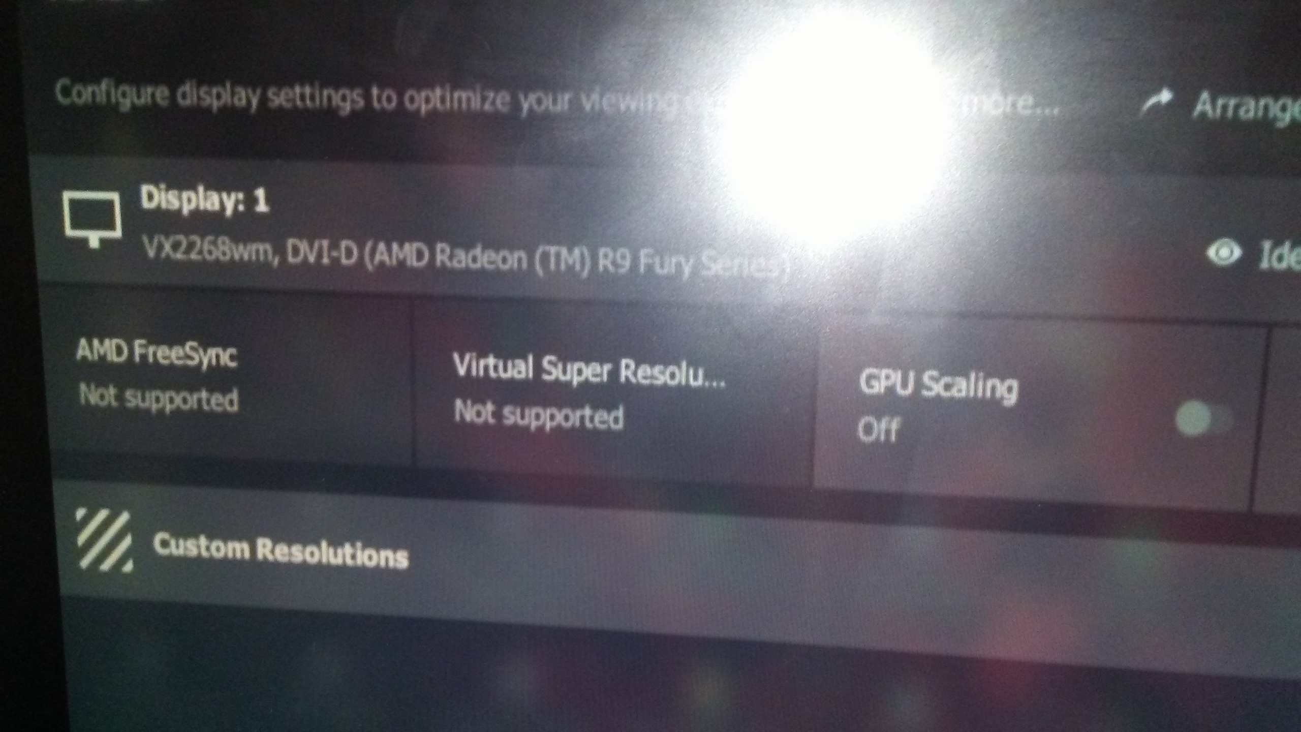 120hz or higher refresh on AMD Radeon? - Graphics Cards