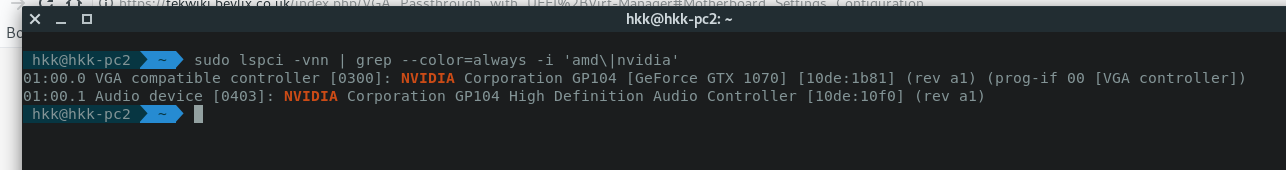 Problem with GPU passthrough with QEMU on Arch - Linux