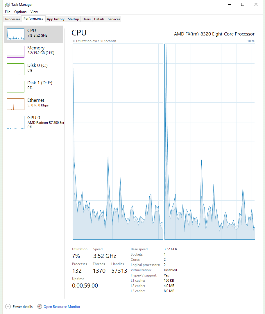 I Enabled All 8 Cores Of My Amd Fx 8320 In My Bios But Cpu Z Shows 2 Cores Cpus Motherboards And Memory Linus Tech Tips