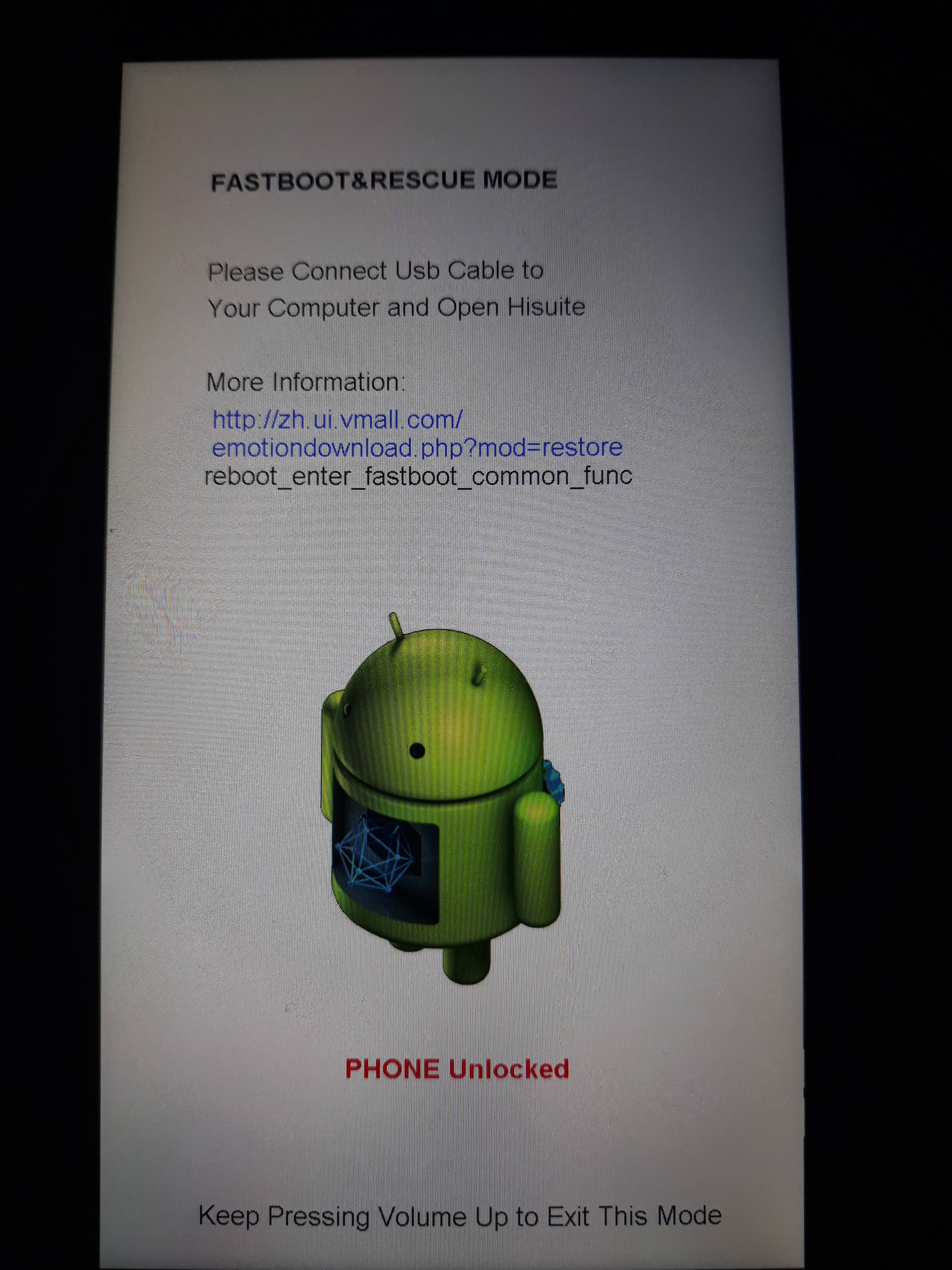 Unable to flash images through Fastboot/Bootloader - Phones