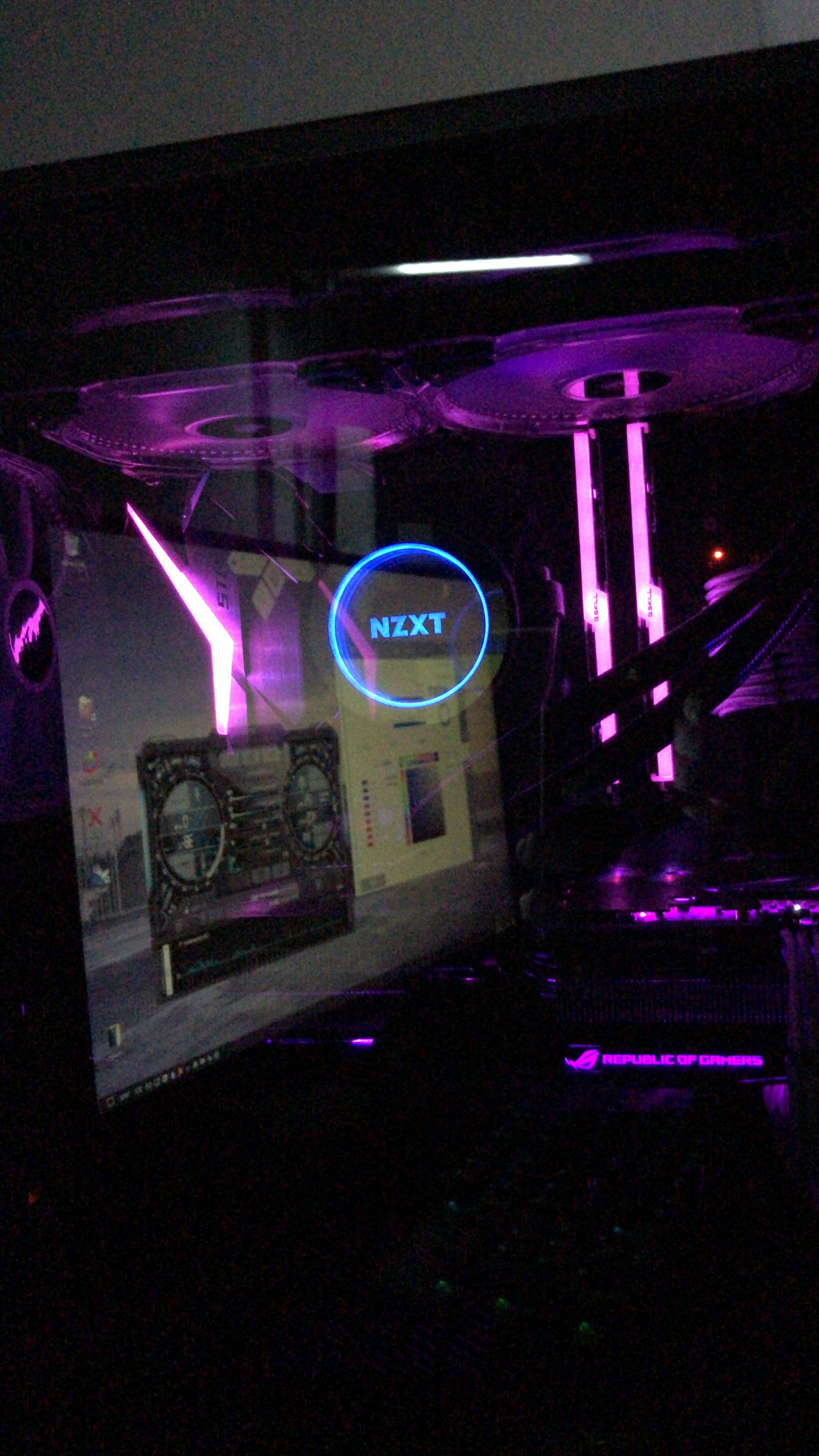 Syncing RGB fans / individually addressable LED strip with