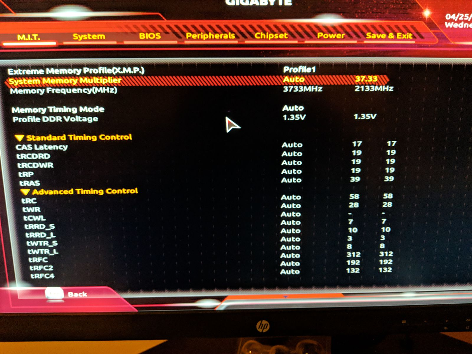 Memory Speed being reported in CPUZ - CPUs, Motherboards